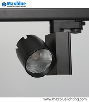 LED Track Light 30W COB Rail Light Replace Hologan Lamp White Black Finished Ceiling LED Track