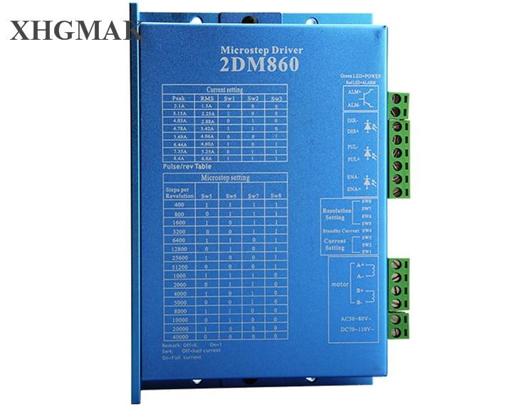 JMC 2 phase stepper driver 2DM860 USE FOR CNC ROUTER latest version instead old verstion 2MA860HJMC 2 phase stepper driver 2DM860 USE FOR CNC ROUTER latest version instead old verstion 2MA860H