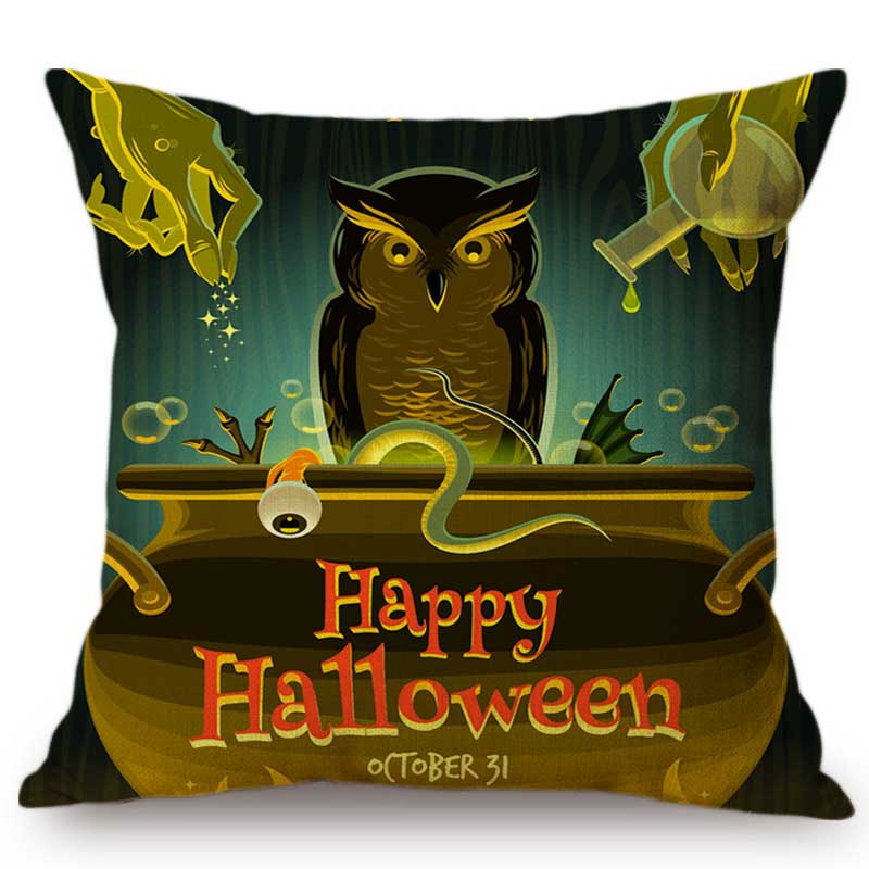Happy Halloween Tips On Home Decoration 1: Happy Halloween Party Decorative Black Crow Owl Cartoon