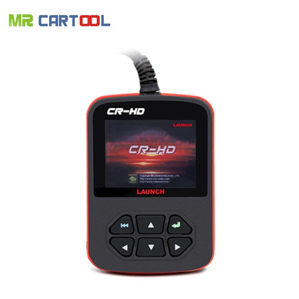 Цена за 100% Оригинальный Launch CR-HD Грузовик Код Сканер Launch CR-HD Heavy Duty Truck Code Reader Бесплатный Обновление Онлайн