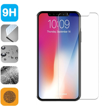9H Tempered Glass LCD Screen Protector Shield Film for iPhoneX iPhone X Anti-scratch Cover