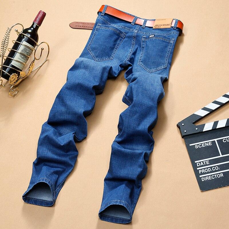 Autumn Spring jeans  Mens Brand Jeans men  Regular fit  jeans denim Causal pants Washed Blue jeans for men men s cowboy jeans fashion blue jeans pant men plus sizes regular slim fit denim jean pants male high quality brand jeans