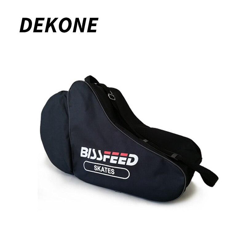 Motiviert Schulter Rollschuh Tasche 600d Verschlüsselung Wasserdichte Stoff Oxford Für Erwachsene Große Raum Hockey Helm Tragbare Tragen Sport Tasche