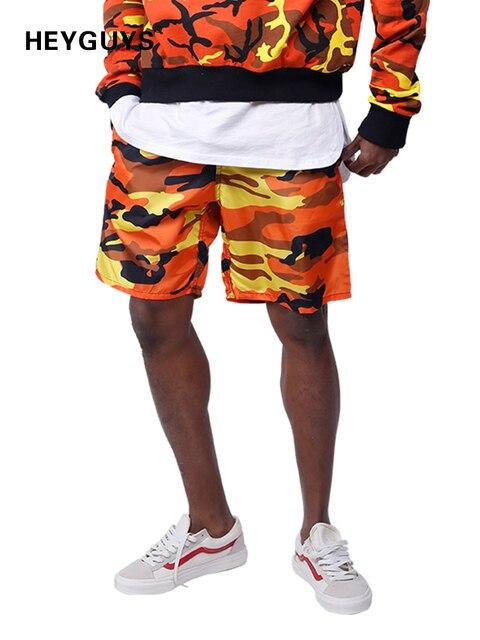 9f6b2cb88b0 HEYGUYS 2018 Hot Sale pure Men s Summer Fashion camouflage Shorts Casual  Waist Trousers Sweat Shorts pure