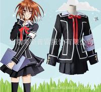 Vampire Knight Cosplay Yuki Croce Bianco o Nero Womens Dress uniform