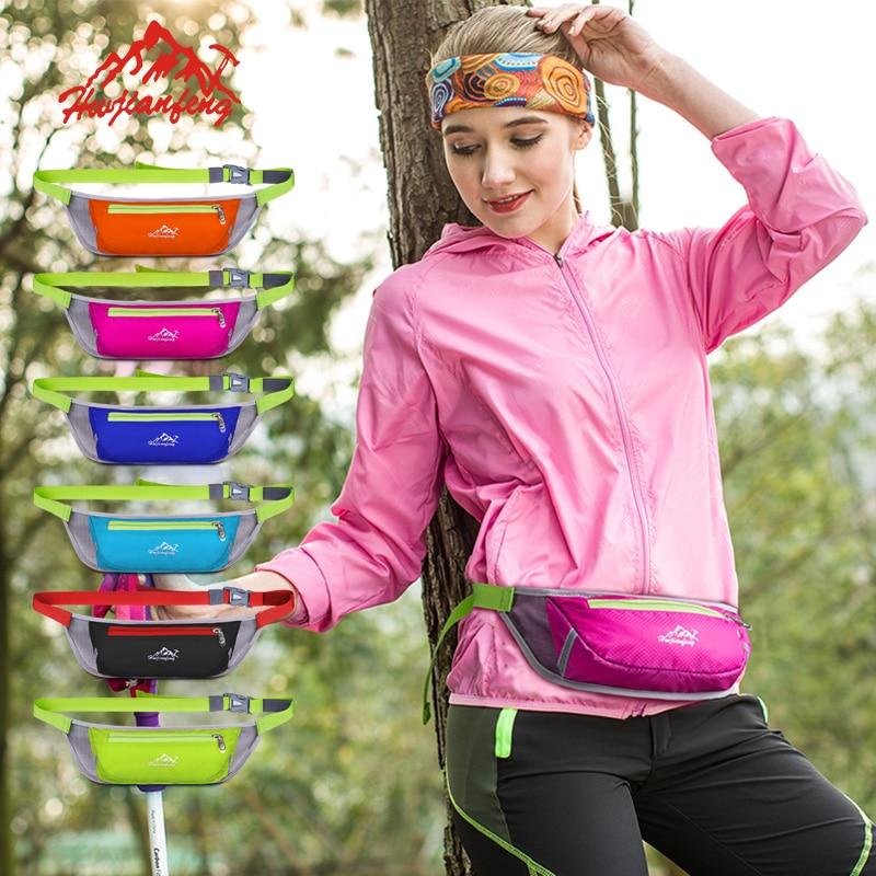 Nylon Waterproof Waist Pack For Men And Women Marathon Running Bag Nylon Money Belt Mobile Phone Pouch Jogging Sports Bags