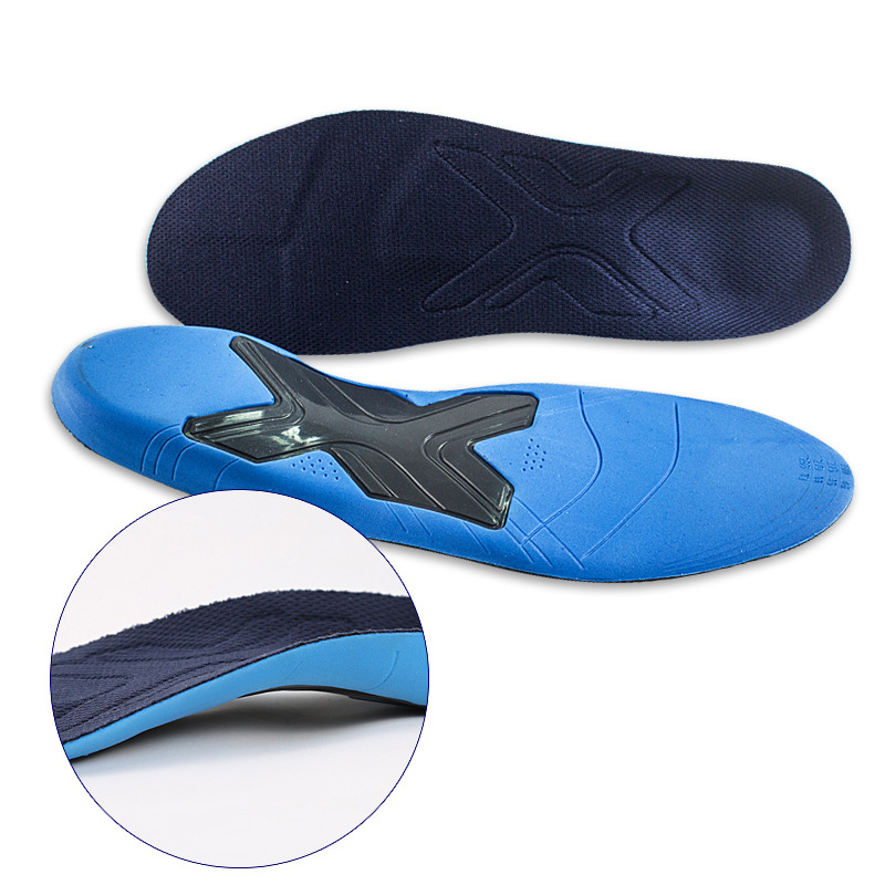 Orthotic Arch Support Shoe Pad Orthopedic Insoles PU Insoles For Shoes Breathable Foot Pads Massage Sport Insole XD-066