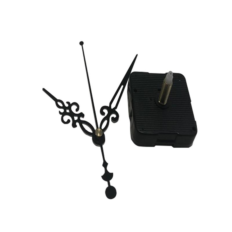 Clock Accessory Quartz Movement Plastic Step Movement With Black Clock Hands DIY Clock Kits