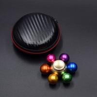 2017 New Arrival Rainbow Fidget Spinner Metal Finger Spinner Colorful Hand Spinner Best Gift Relieve Stress