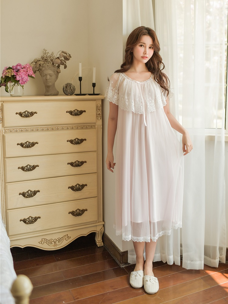 Summer Sweet Cotton Women S White Lace