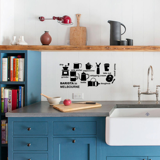 romantic barista in melbourne vinyl wall stickers bedroom quotes
