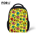 Cute Child Cartoon Skull Print School Bags Small Students Schoolbag for Boys Girls Kids Mochila Infantil Children Mini Backpack