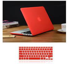 Матовый Жесткий Чехол для ноутбука apple macbook air 11 13 pro