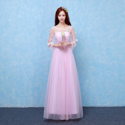 81cc0d19eb US $27.08 5% OFF|Sweet Memory beautiful sky blue half sleeve bridesmaid  dresses for performance wedding party guests sisters dresses SW180419-in ...