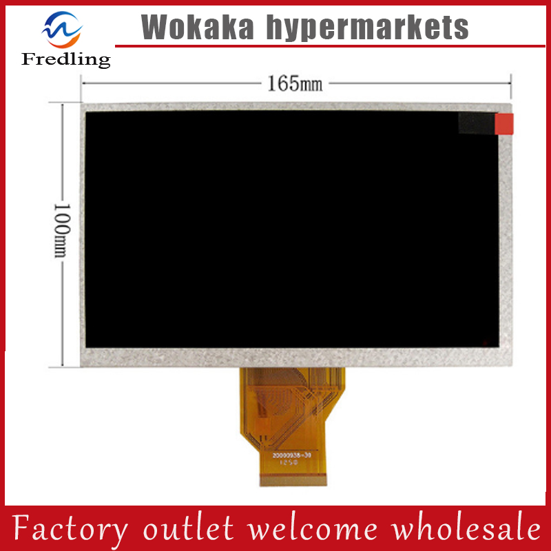 LCD Screen Display For WEXLER T7001B / T7022 / T7004 Tablet Replacement Free Shipping lcd screen display for philips xenium x1560 ctx1560 x2300 x2301 x333 ctx333 replacement free shipping