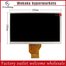 LCD Screen Display For WEXLER T7001B / T7022 / T7004 Tablet Replacement Free Shipping