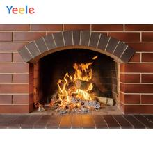 Yeele Indoor Fireplace Brick Wall Baby Portrait Personalized Photographic Backdrops Photography Backgrounds For Photo Studio
