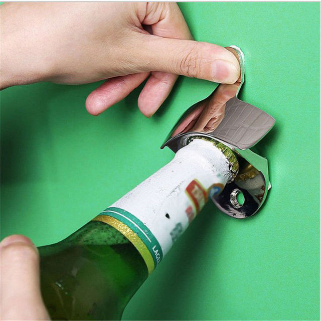Stainless Steel Wall Mounted Opener 4