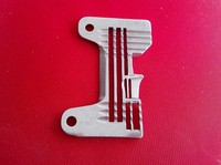 Industriale macchina da cucire ago plate Pegasus EX5214 due pin cinque linea placca ago 277505R50 Pegasus placca ago