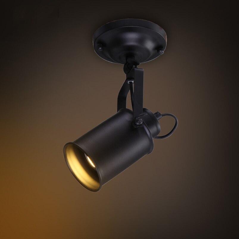 American Industrial Retro Loft Ceiling Lamp Creative Study Cafe Restaurant  Pub Cloth Shop Store Bar Living