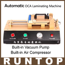 3 in 1 Built-in Vacuum Pump Automatic OCA/Polarizer Film Laminating Machine
