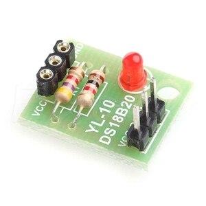 5 шт. /лот Новый DS18B20 Температура Сенсор Щит Модуль без DS18B20 чип