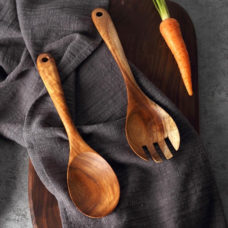 Natural Kitchen Cutlery Set 3