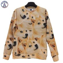 2017 Mr.1991INC New fashion men/women 3d hoodies Funny printed dogs sudaderas hombre Moletom jacket tops W244