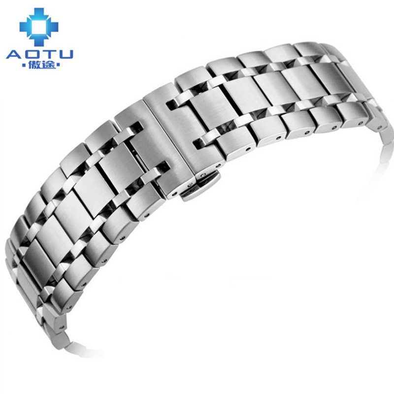 Bracelets de montre en acier inoxydable pour Tissot 1853 T077 bracelet de montre en métal pour hommes 12 MM bracelet de montre en acier inoxydable pour hommes Correas Para Reloj