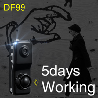 DF99 Human Body Induction Camera Ultra Small Integrated Camera Mini Monitor Head Home Security Cam