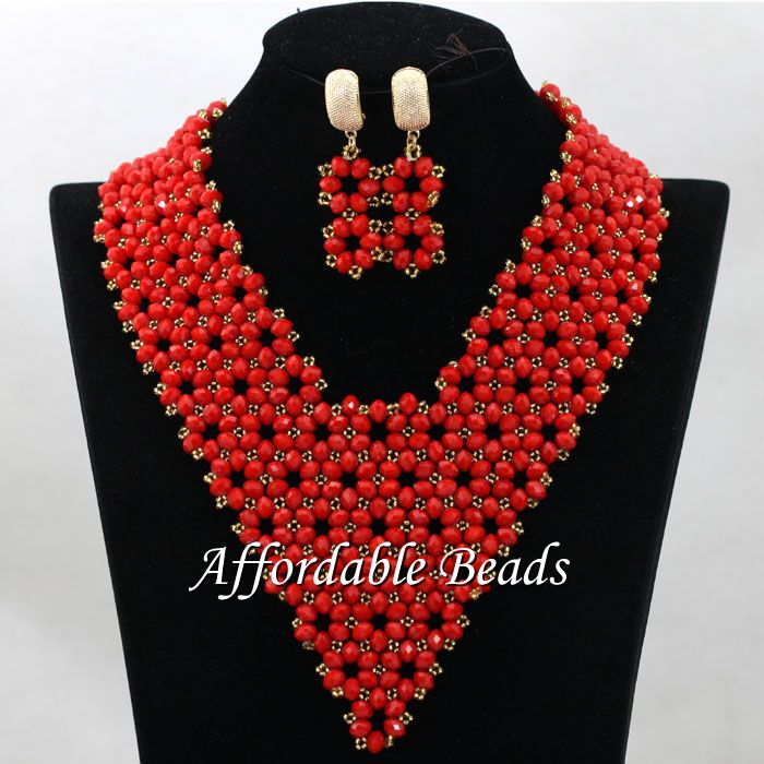 Hot Sale Nigeria Beads Best Selling African Wedding Set New Arrival Style Wholesale HEB135Hot Sale Nigeria Beads Best Selling African Wedding Set New Arrival Style Wholesale HEB135