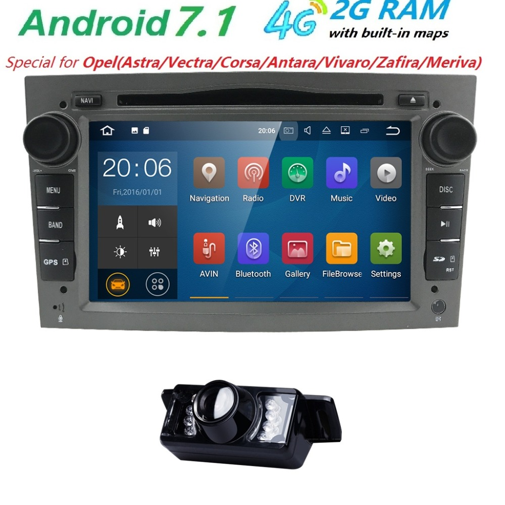 autoradio 2 din android 7 1 car dvd gps navigation for. Black Bedroom Furniture Sets. Home Design Ideas
