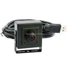 Mini 0.3mp VGA CMOS wide angle usb 2.0 CCTV Security camera usb with 170degree fisheye lens Wide Angle Webcam with 3M USB Cable