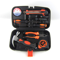 PDR Household Hand Tool Set Home Repair Kit Claw Hammer Wire Pliers Cross Screwdrive Knives 9