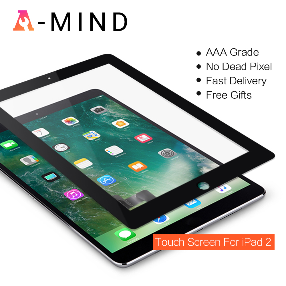 New 9 7 inch Tablet For ipad 2 ipad2 A1395 A1396 A1397 Glass Touch Screen Digitizer