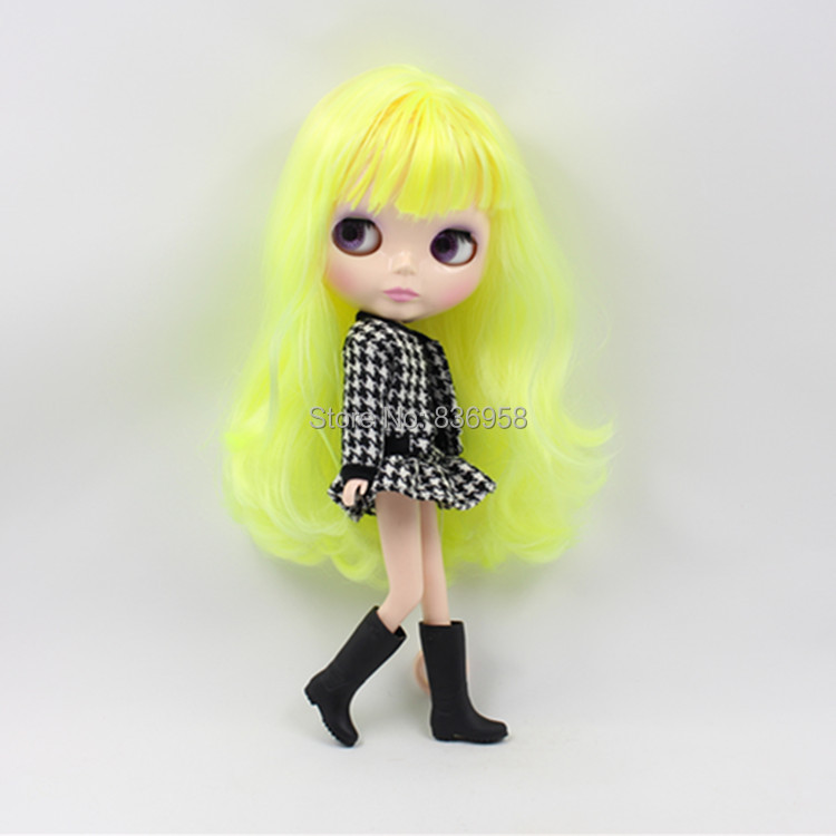 Nude Doll For Series No.0312 YELLOW HAIR nude doll for series no 2237 bronze hair