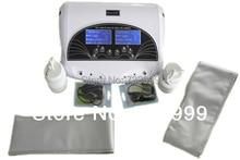Doppio detox foot spa ion cleanse detox macchina per due persone utilizzano allo stesso tempo con due grandi display schermo
