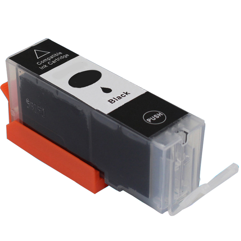 3BLACK PGI525 ink cartridges compatible For canon PIXMA IP4850 IP4950 IX6550 MG6220 MG6150 MG6250 MG8170 MG8220 MG8150 MG5250