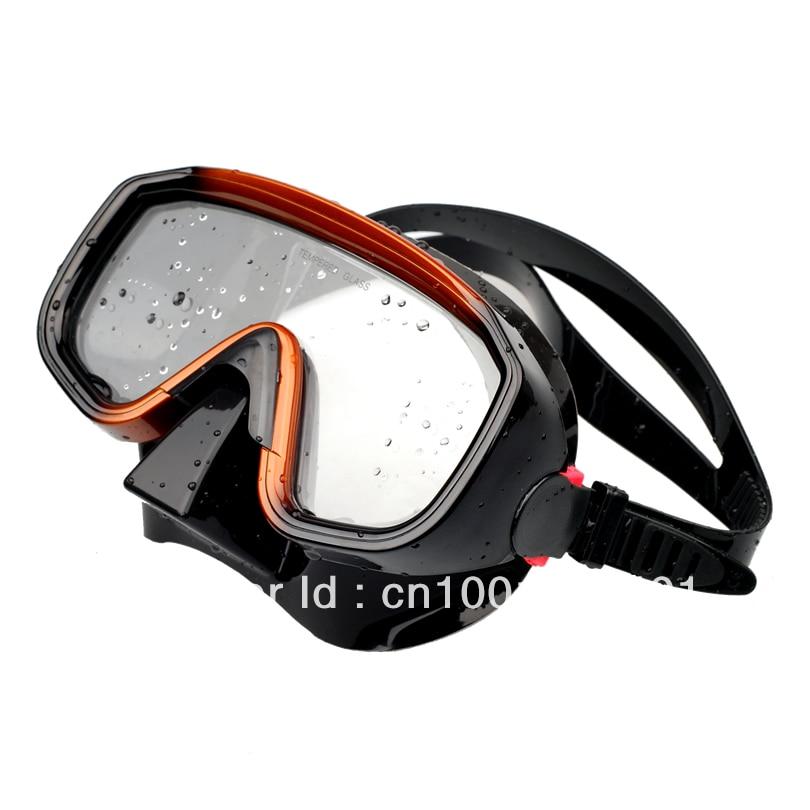 Máscara de buceo de silicona de alta calidad de una ventana - Deportes acuáticos - foto 2