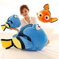 J-Encontrar Dory muñecas, de dibujos animados juguetes de peluche, muñecas muñecas de Pescado, pez payaso Nemo regalos de Navidad, regalos de cumpleaños