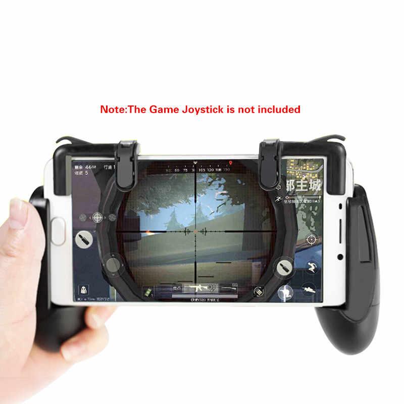 Flexible teléfono Gamepad gatillo Botón de fuego objetivo clave L1R1 tirador controlador PUBG V3.0 FUT1