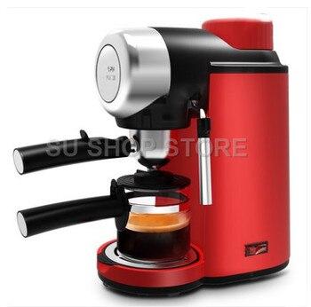 цена на Semi-automatic coffee machine 5 bar pressure steam Milk Bubble for home electric Coffee Makers espresso machines italian 220 V