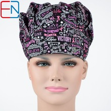 Hennar brand women medical surgical scrub bouffant caps/hats