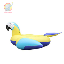 ФОТО 220cm giant parrot pool floats swimming ring for adult kids inflatable parrot ride-on water toys flotador unicornio