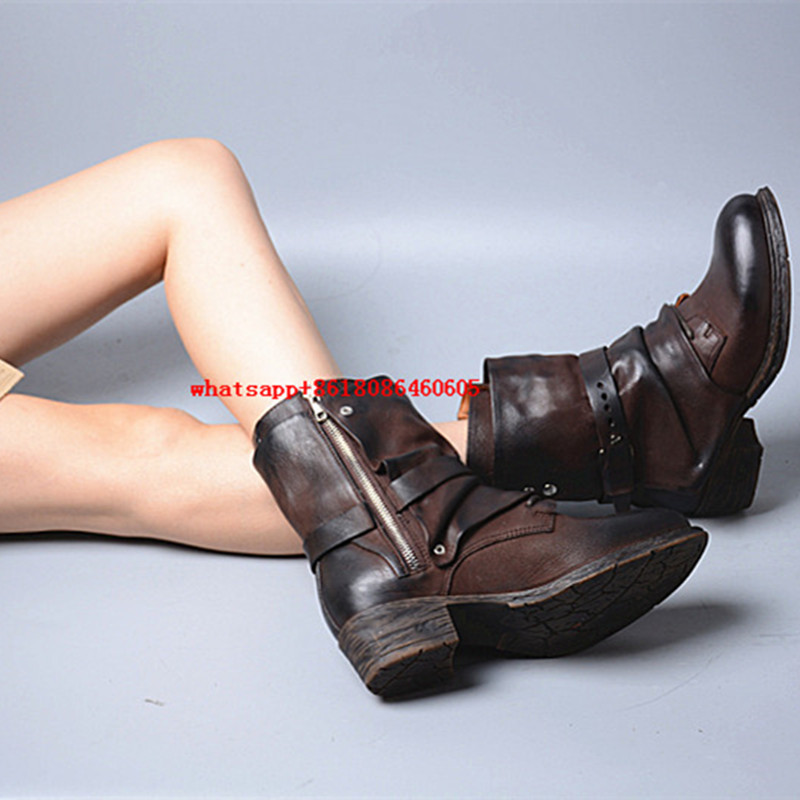 Popular Leather Boots Rain-Buy Cheap Leather Boots Rain lots from