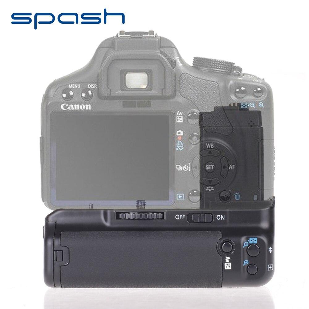 Spash Multi-power Vertical Battery Grip per Canon EOS 450D 500D 1000D T1i XS XSi Sostituzione BG-E5 Batteria Della Fotocamera supporto
