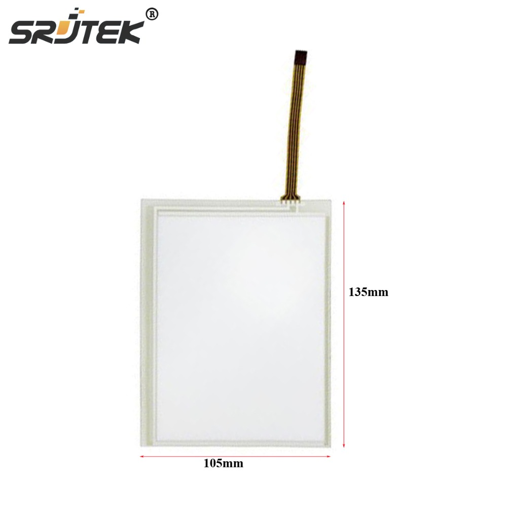 Srjtek Brand New Touch Panel For <font><b>KORG</b></font> <font><b>PA500</b></font> M50 TP-356751 5MM 105*135mm Digitizer Screen Replacement image