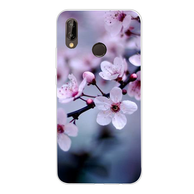 For Huawei P20 Lite Case P 20 Lite Cover Shockproof TPU Silicon Bumper Matte Armor Funda Case For Huawei P Smart Mate 10 Lite in Fitted Cases from Cellphones Telecommunications