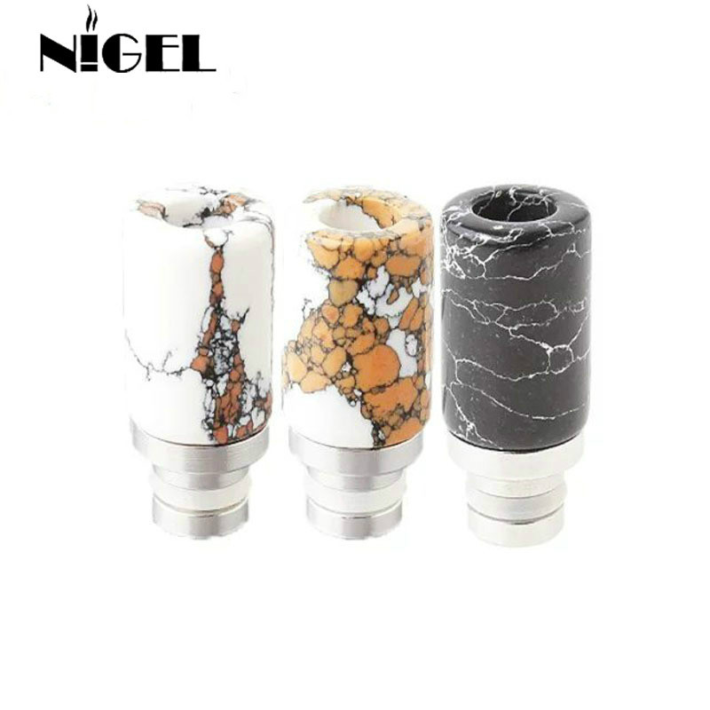 Jade Stone Drip Tips 510 Drip Tips Mouth Pieces Friska Jade Drip Tips - Elektroniska cigaretter