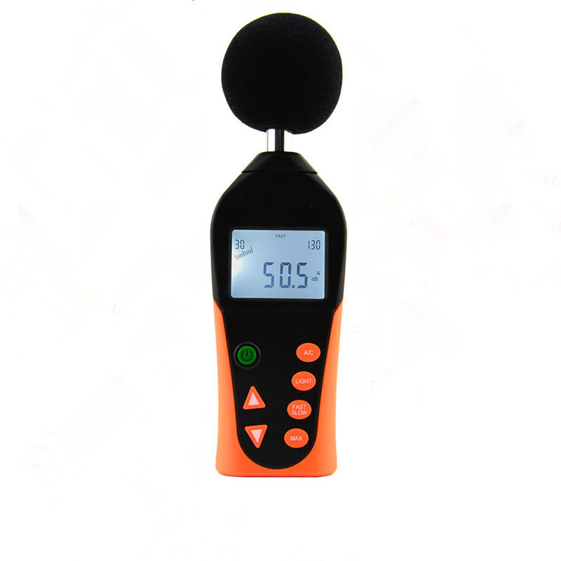 Original Hot Sale Handheld Noise Meter VC824 Detector Decibel Meter Noise Tester High Precision Sound Level Meter Instrument 2016 newest hot digital lcd vibration meter tester vibrometer bearing condition detector hot sale